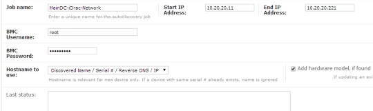 Adding IPMI discovery