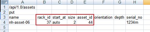 Adding Assets to Racks