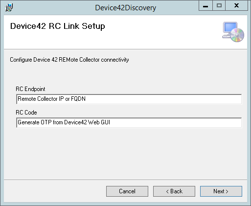 Device42 RC Link Setup