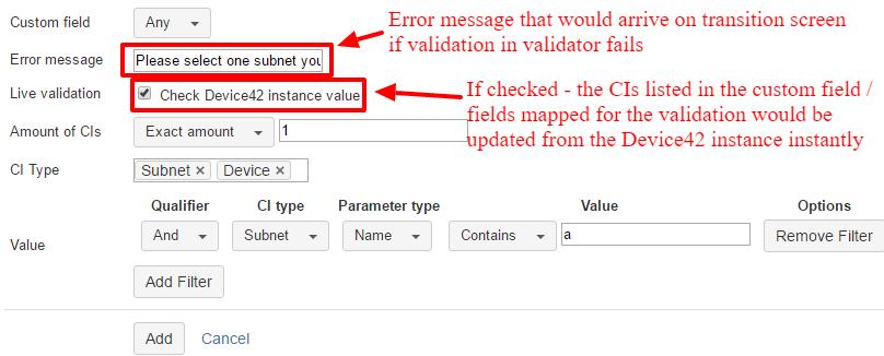 Error Message Config