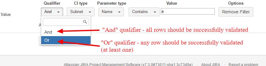 Filter Qualifier