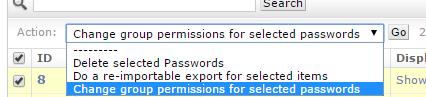 Bulk Permission Change