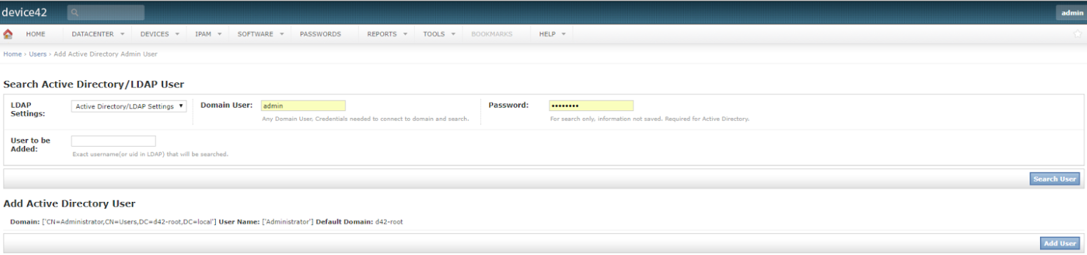Search AD LDAP User