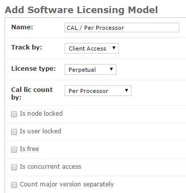 License Models