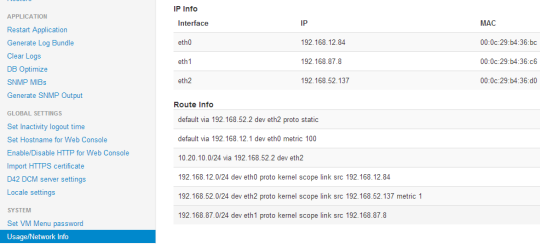Checking your network config