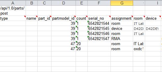 Populating the sample sheet