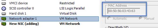 Add multiple NICs to the VM