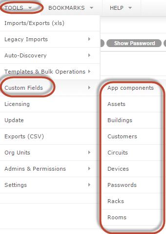 Adding Custom Fields